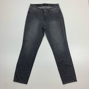 Talbots Slim Ankle Gray Jeans